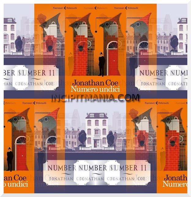 Copertine di Numero undici di Jonathan Coe