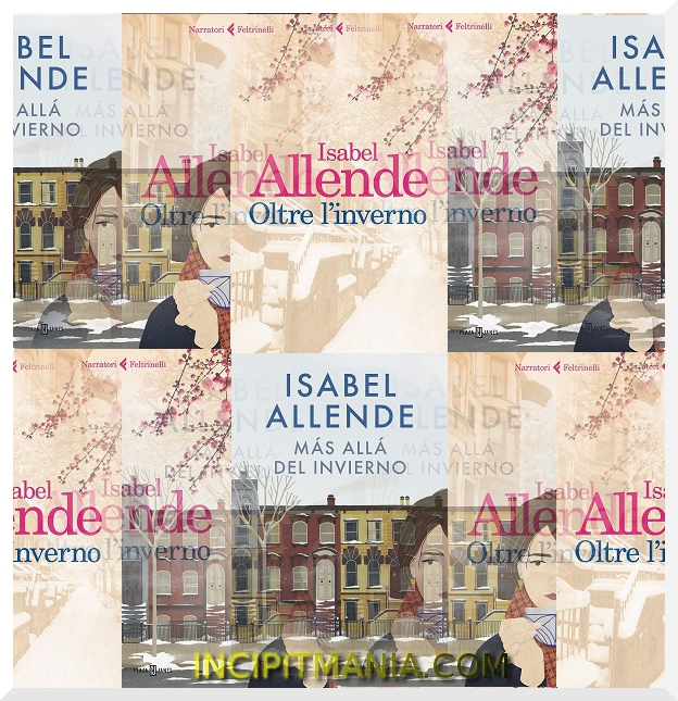 Copertine di Oltre l'inverno di Isabel Allende