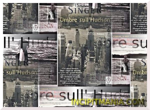 Copertine di Ombre sull'Hudson di Isaac B. Singer