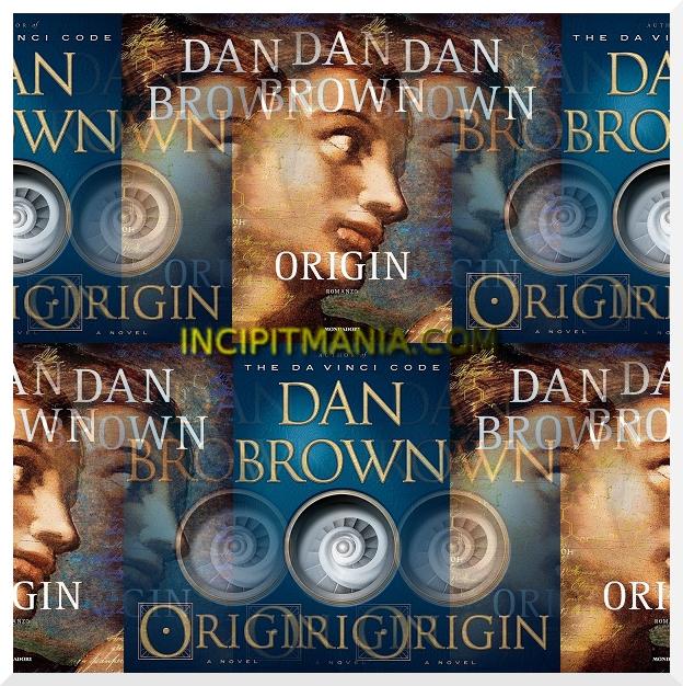 Copertine di Origin di Dan Brown