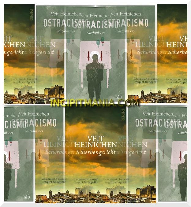 Copertine di Ostracismo di Veit Heinichen