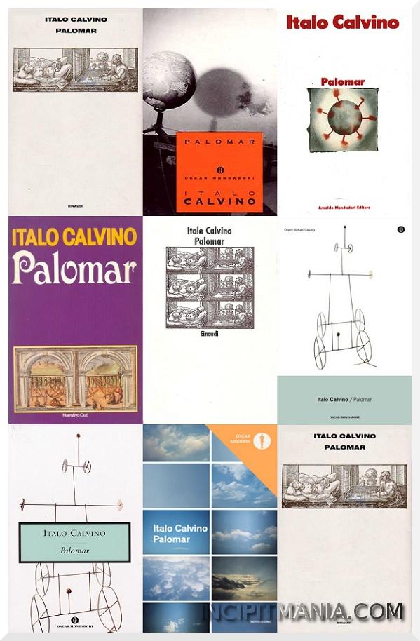 Copertine di Palomar di Italo Calvino