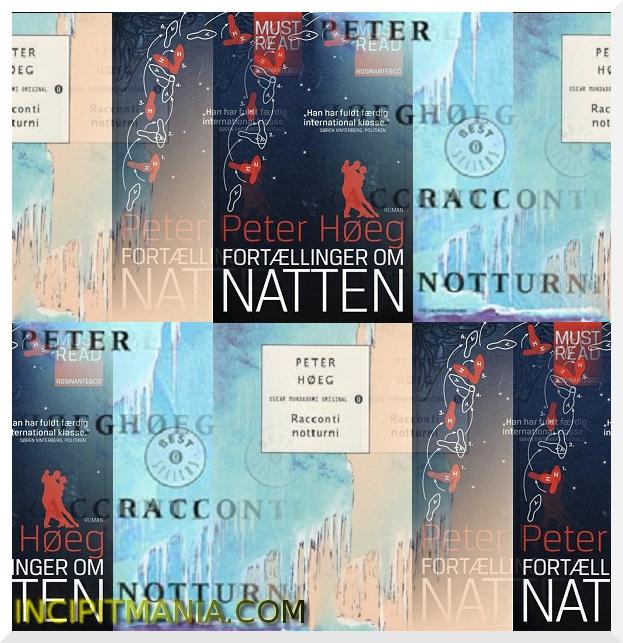 Copertine di Racconti notturni di Peter Høeg