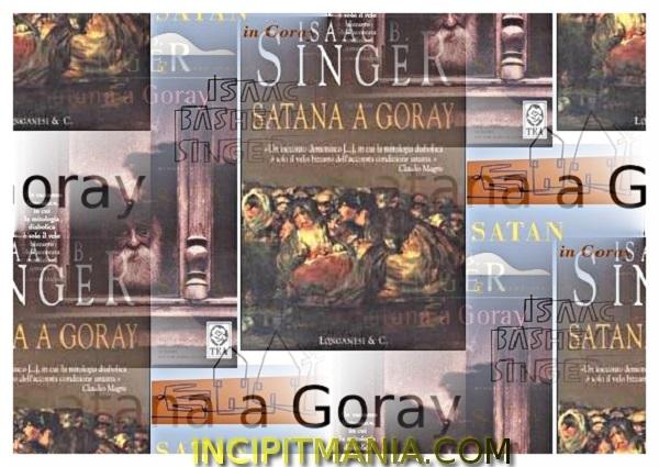 Copertine di Satana a Goray di Isaac B. Singer