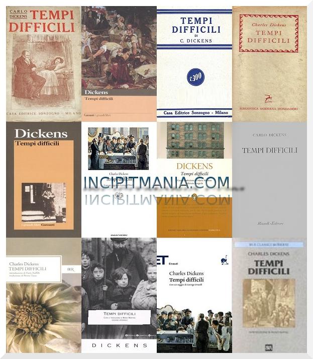 Copertine di Tempi difficili di Charles Dickens