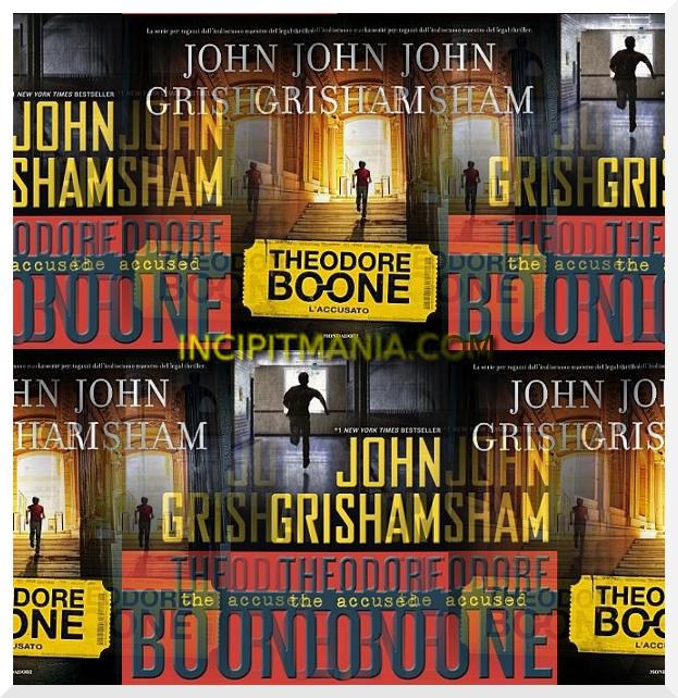 Copertine di Theodore Boone L'accusato di John Grisham
