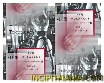 Copertine di Tokyo Decadence di Ryū Murakami