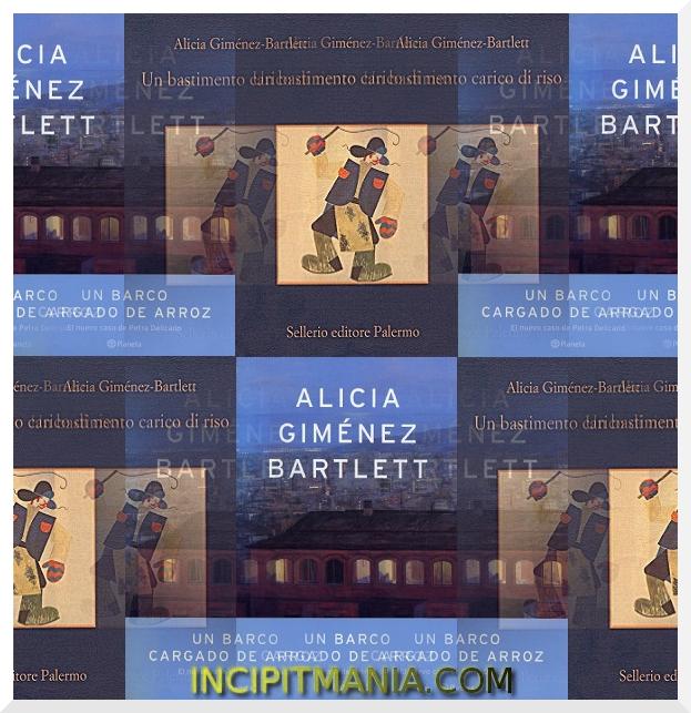 Copertine di Un bastimento carico di riso di Alicia Giménez-Bartlett
