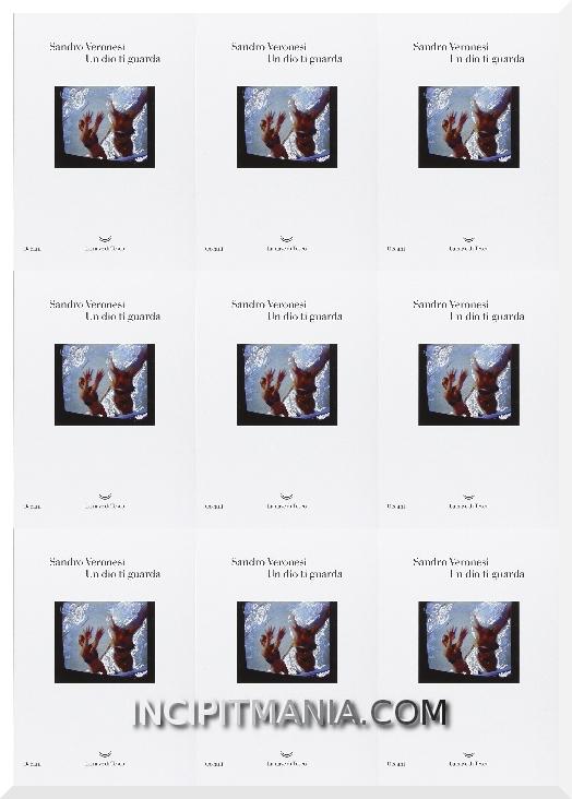 Copertine di Un dio ti guarda di Sandro Veronesi