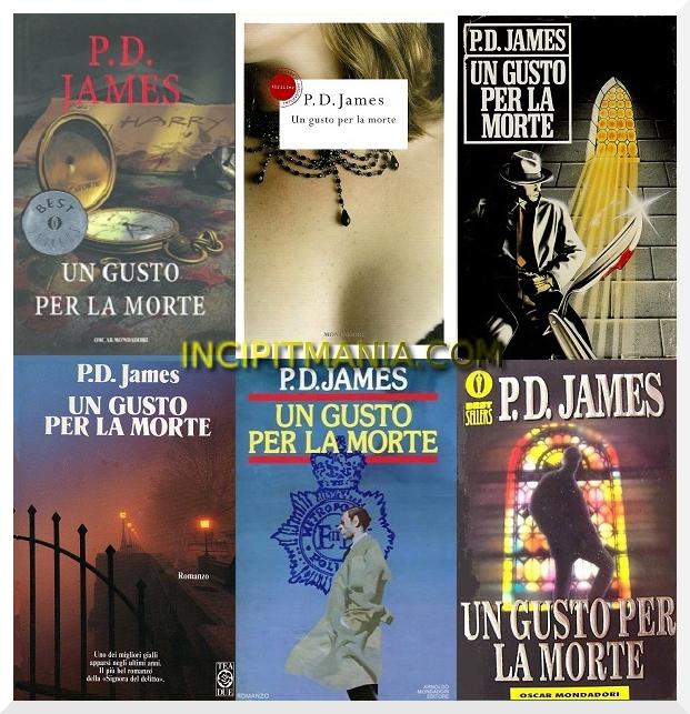 Un gusto per la morte di P.D. James