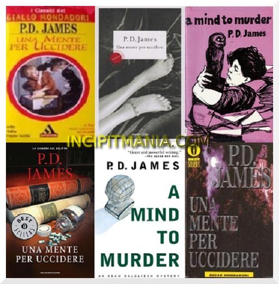 Copertine di Una mente per uccidere di P.D. James
