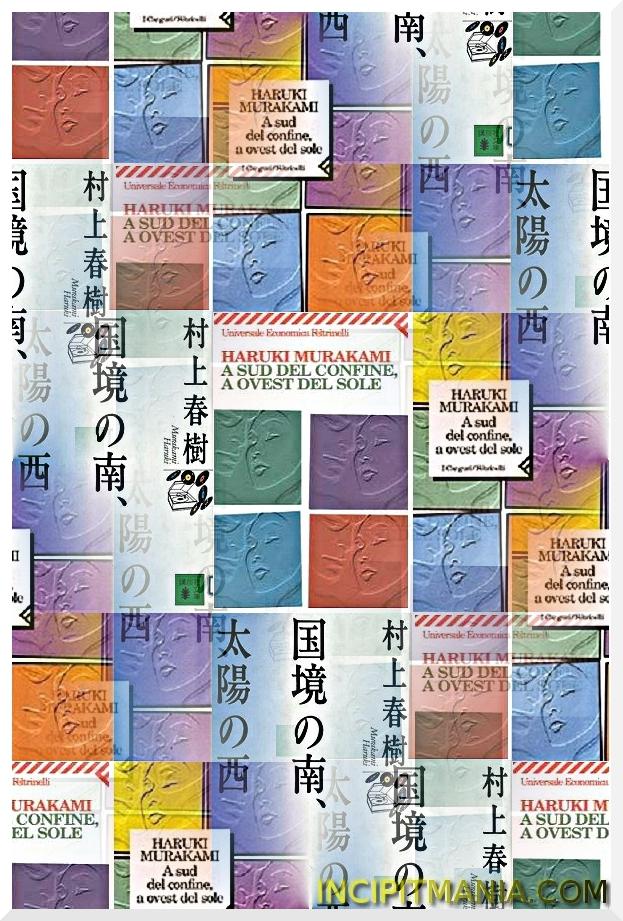 Copertine di A sud del confine, a ovest del sole di Haruki Murakami