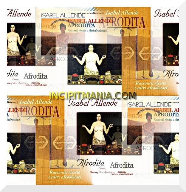 Copertine di Afrodita di Isabel Allende