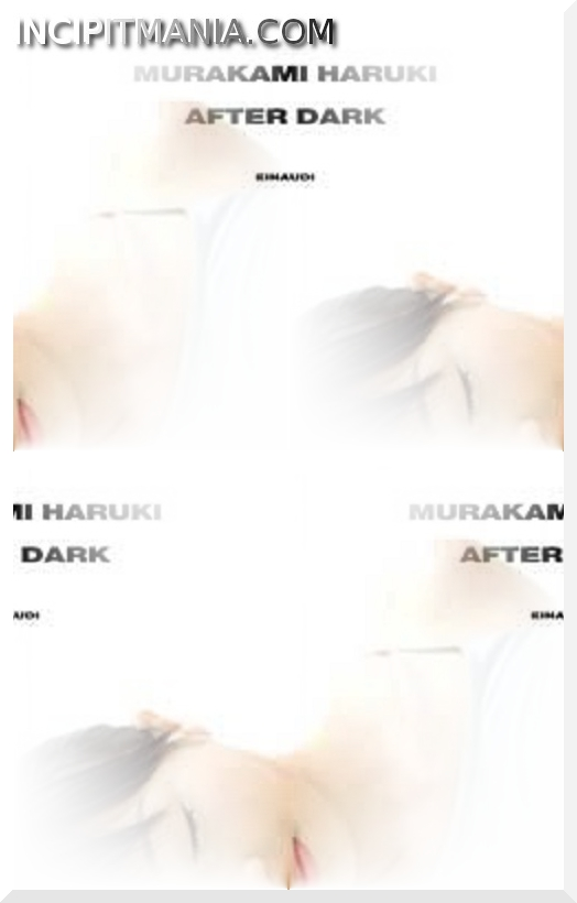 Copertina di After Dark di Haruki Murakami