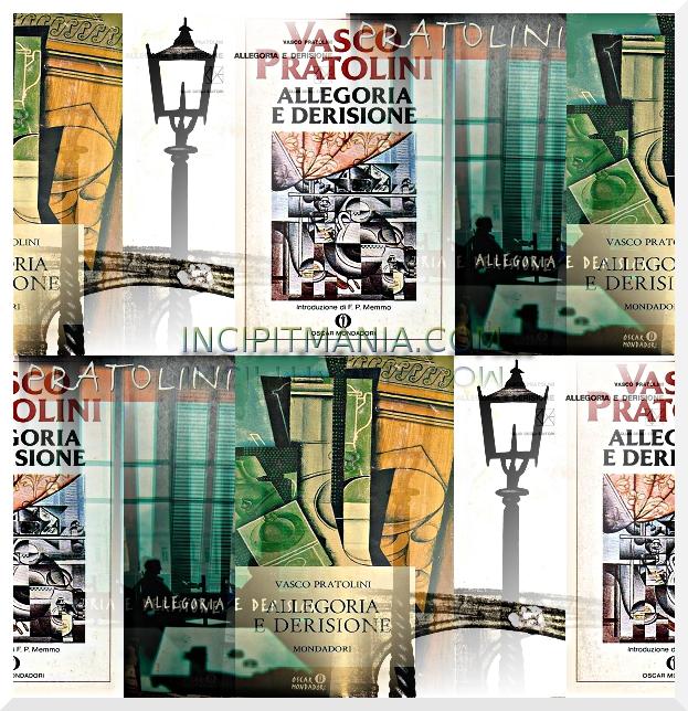 Copertine di Allegoria e derisione di Vasco Pratolini