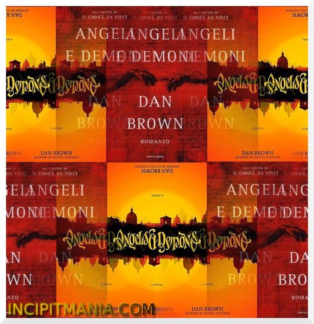 Copertine di Angeli e demoni di Dan Brown