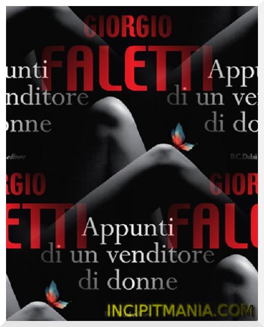 Copertina di Appunti di un venditore di donne di Giorgio Faletti