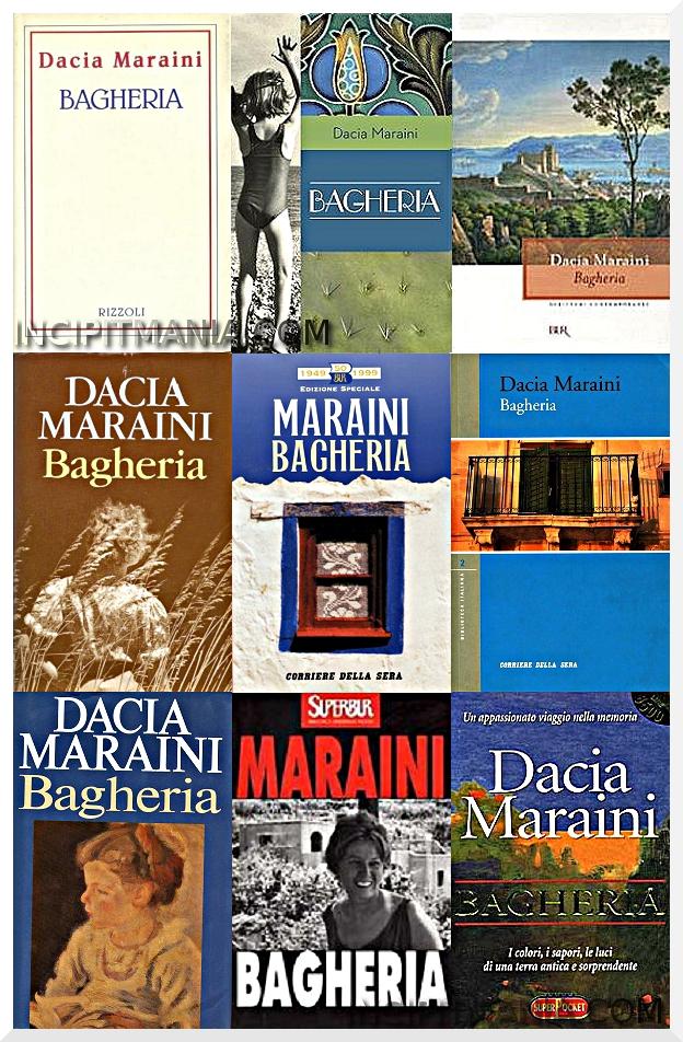 Copertine di Bagheria di Dacia Maraini