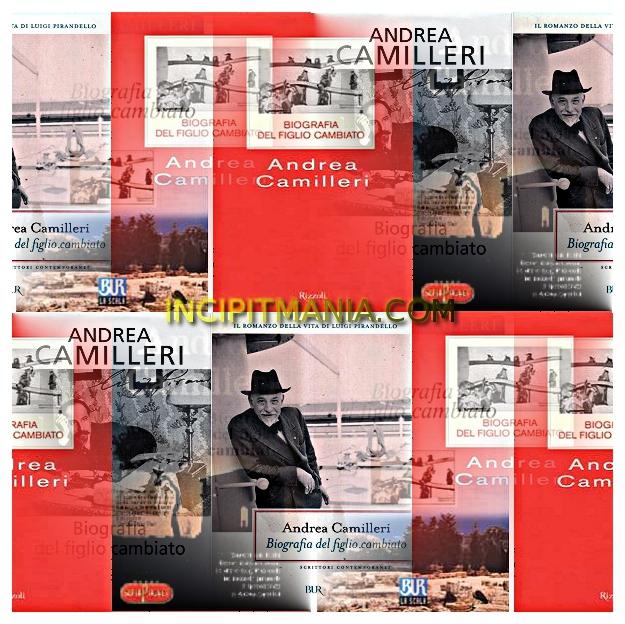 Copertine di Biografia del figlio cambiato di Andrea Camilleri