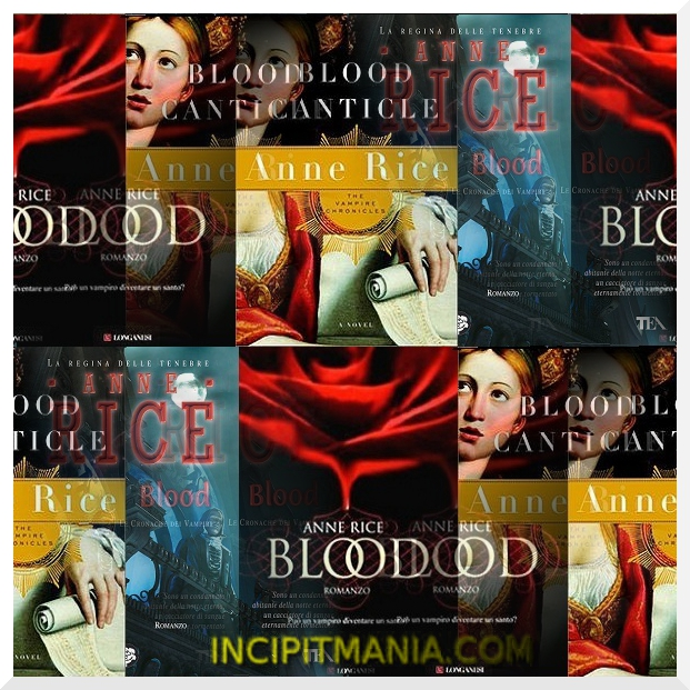 Copertine di Blood di Anne Rice