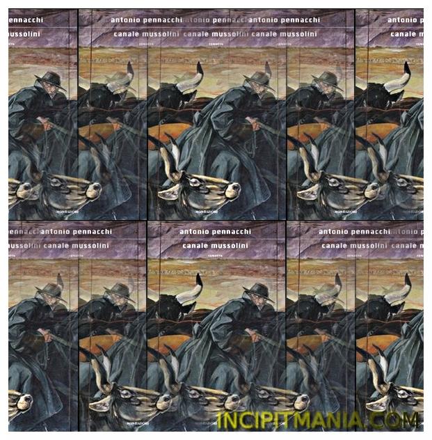 Copertina di Canale Mussolini di Antonio Pennacchi