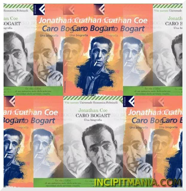 Copertine di Caro Bogart di Jonathan Coe