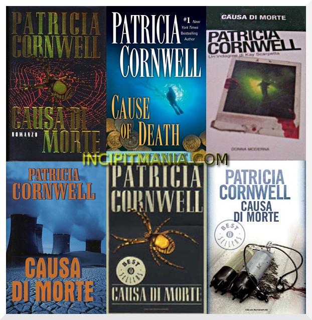 Causa di morte di Patricia Cornwell