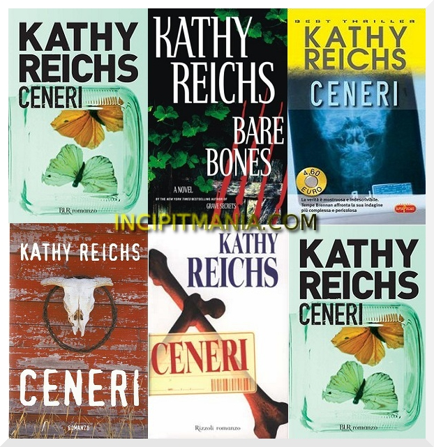 Copertine di Ceneri di Kathy Reichs