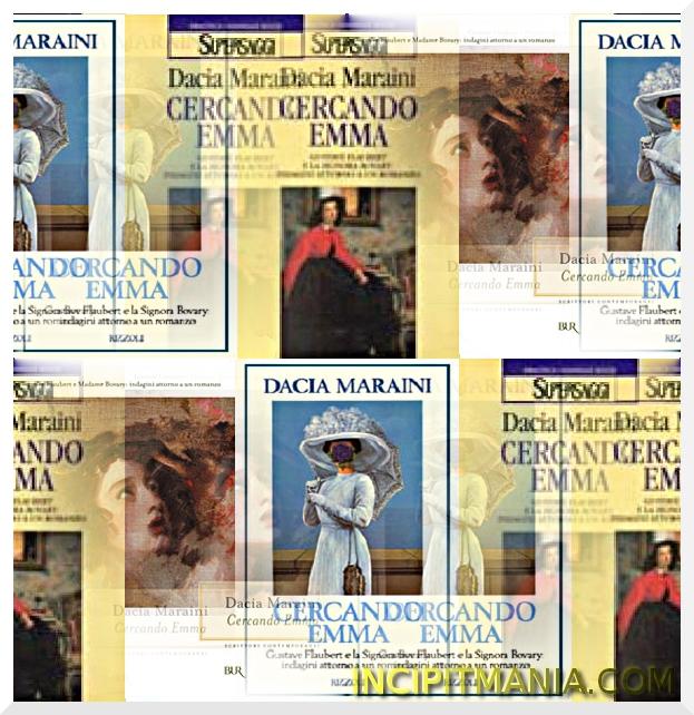 Copertine di Cercando Emma di Dacia Maraini