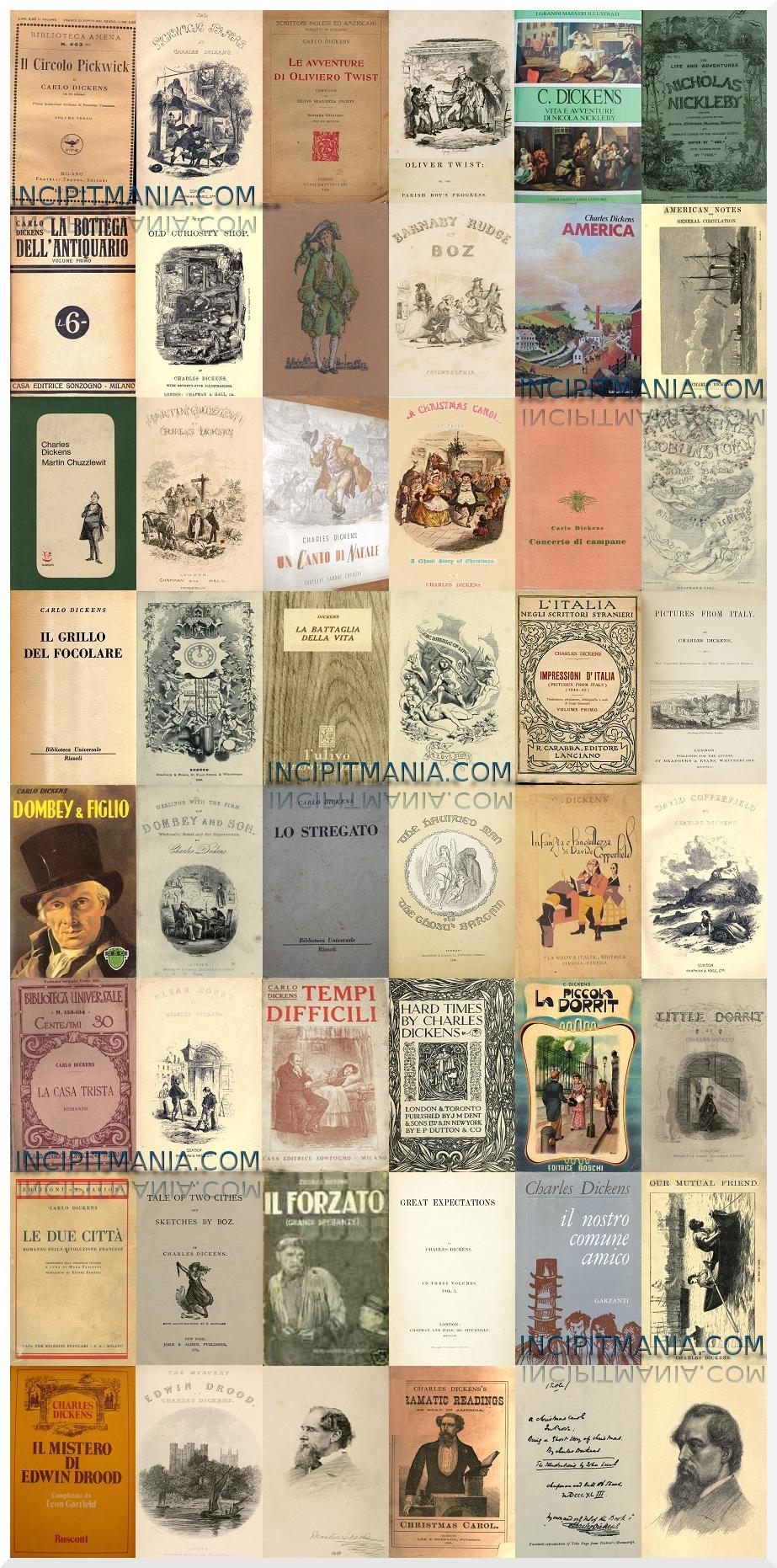 Opere e Bibliografia Charles Dickens