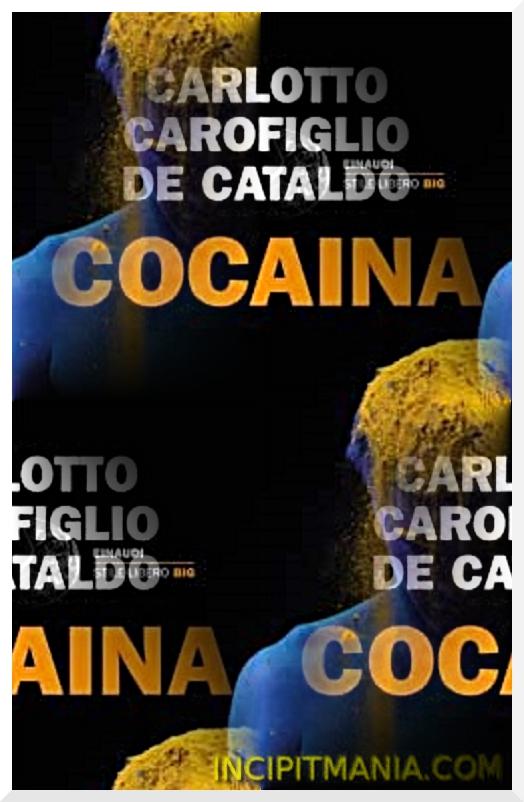 Copertina di Cocaina di Carlotto, Carofiglio, Cataldo