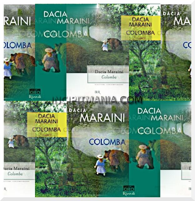Copertine di Colomba di Dacia Maraini