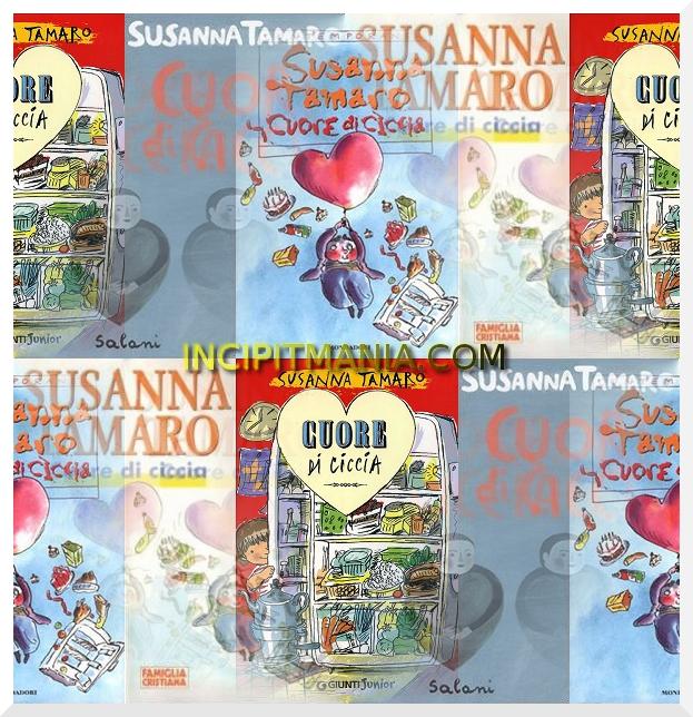 Copertine di Cuore di ciccia di Susanna Tamaro