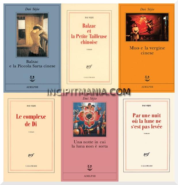 Copertine delle Opere e Bibliografia Dai Sijie
