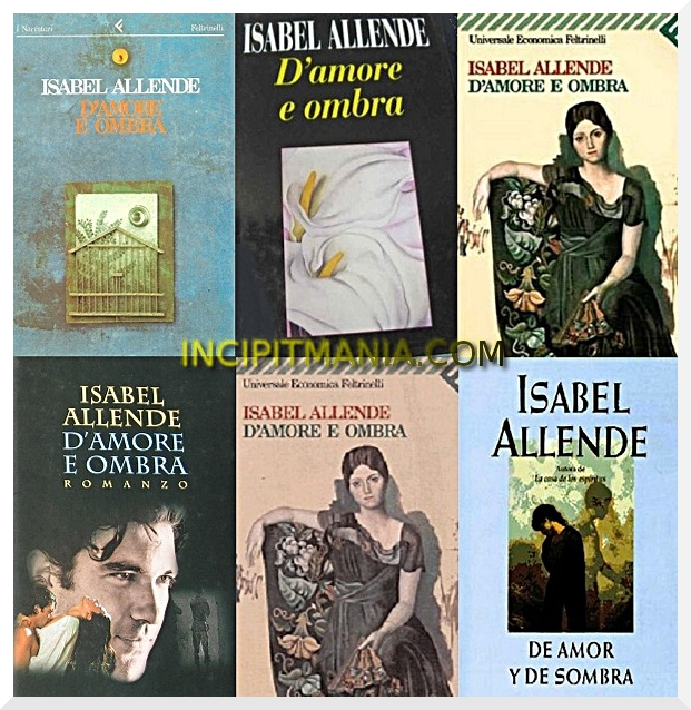 D'amore e ombra di Isabel Allende