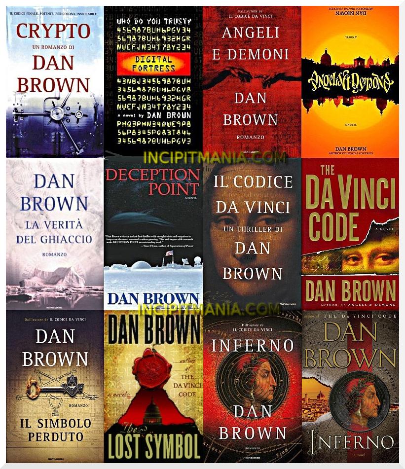 Opere e Bibliografia Dan Brown