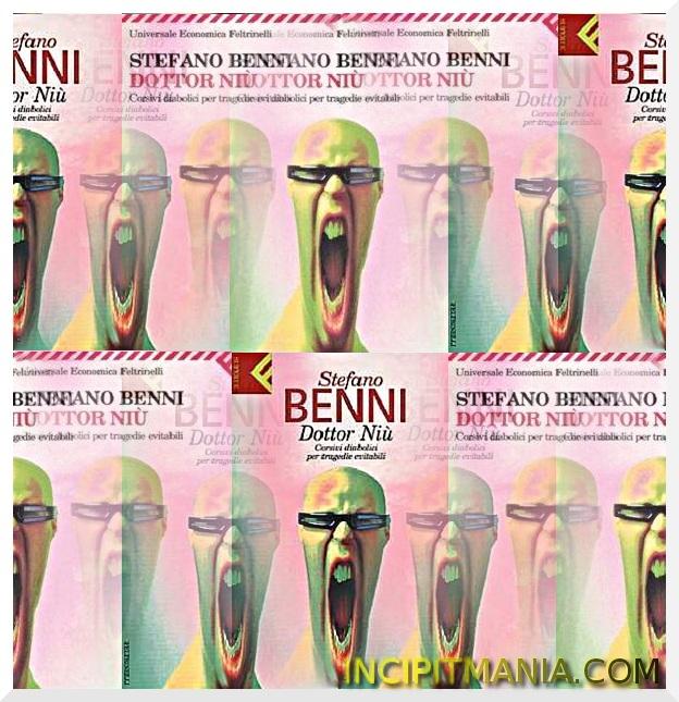 Copertine di Dottor Niù di Stefano Benni