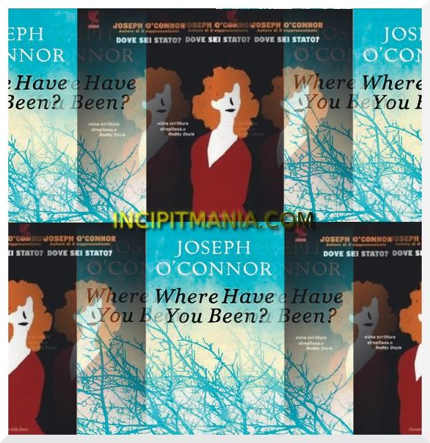 Copertine di Dove sei stato? di Joseph O'Connor