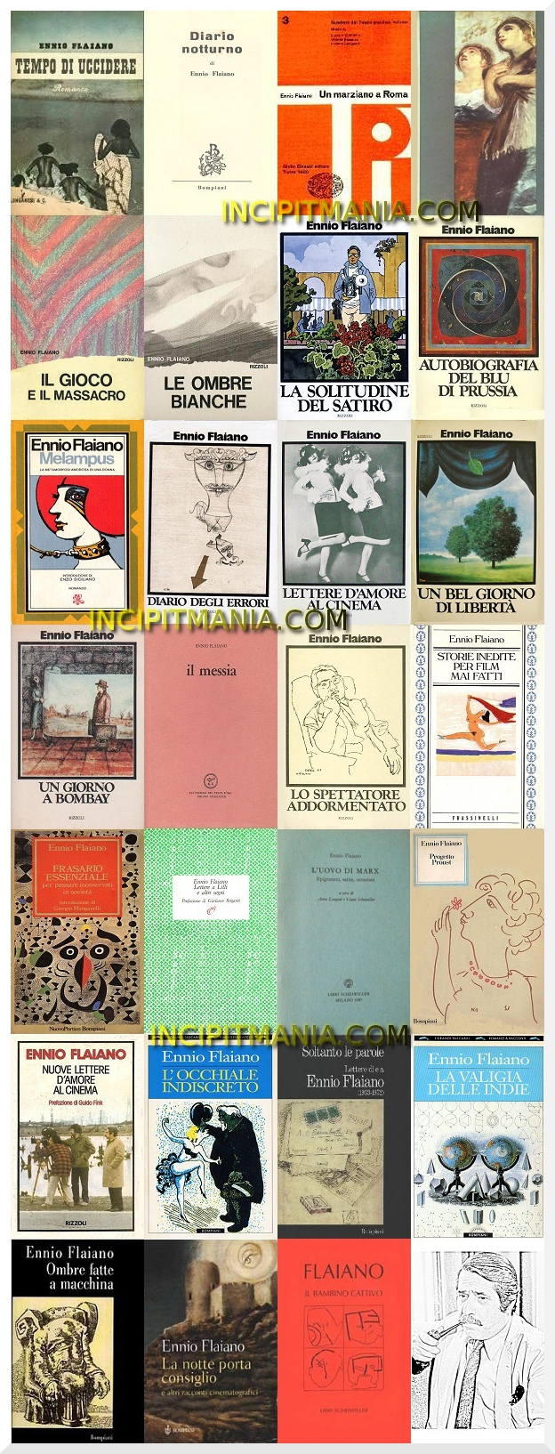 Bibliografia di Ennio Flaiano
