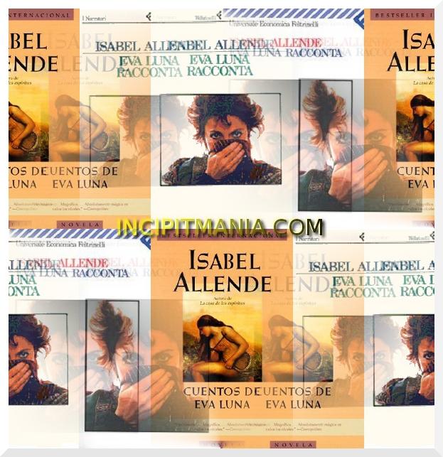 Copertine di Eva Luna di Isabel Allende