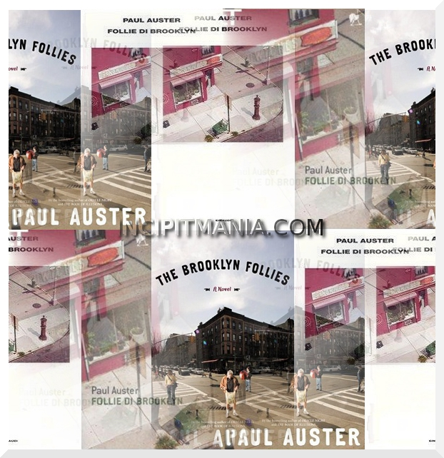 Copertine di Follie di Brooklyn di Paul Auster