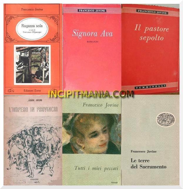 Opere e Bibliografia Francesco Jovine