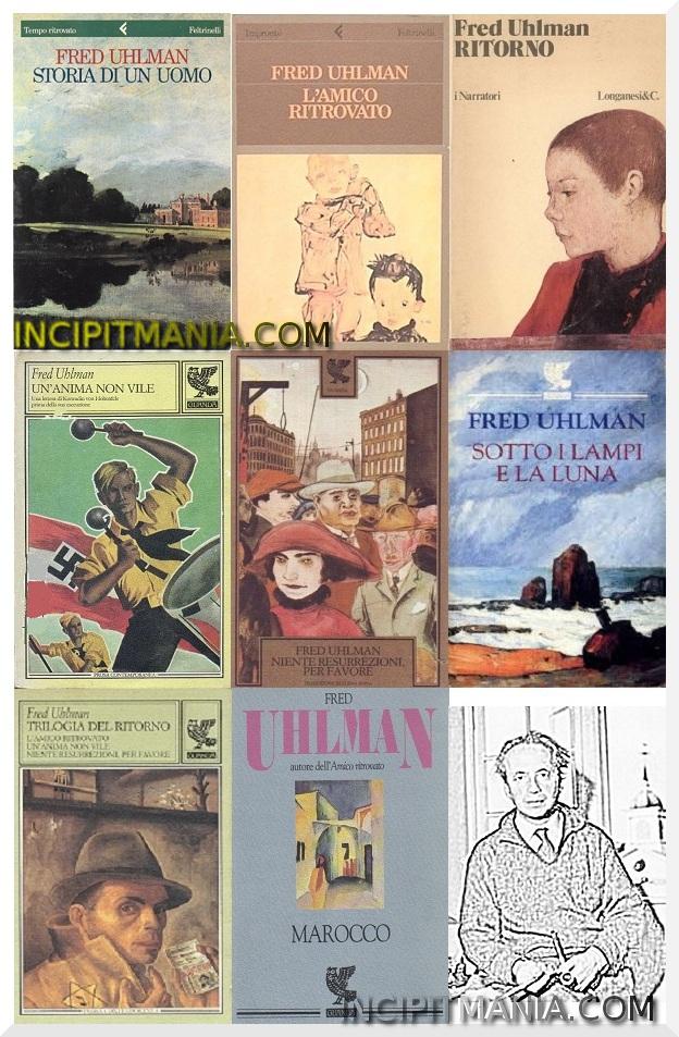 Copertine delle opere di Fred Uhlman