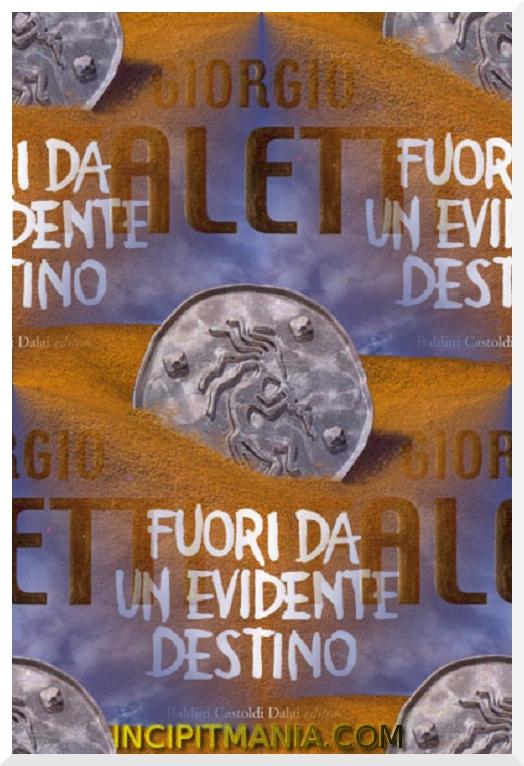 Copertina di Fuori da un evidente destino di Giorgio Faletti