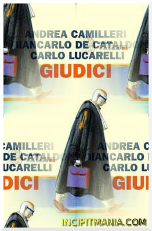 Copertina di Giudici di Camilleri De Cataldo Lucarelli