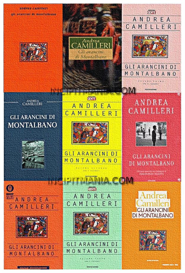 Copertine di Gli arancini di Montalbano di Andrea Camilleri
