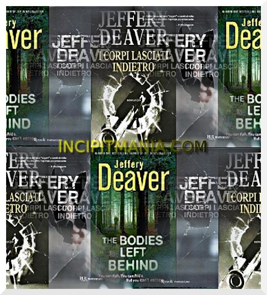 Copertine di I corpi lasciati indietro di Jeffery Deaver