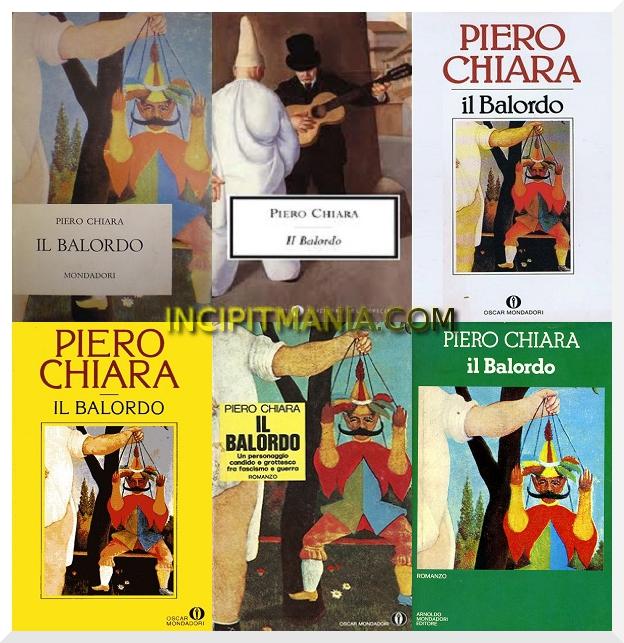 Copertine di Il balordo di Piero Chiara