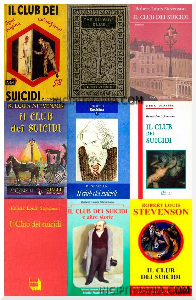 Copertine di Il club dei suicidi di Robert L. Stevenson
