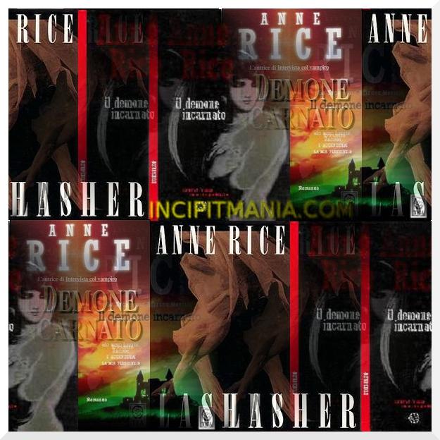 Copertine di Il demone incarnato di Anne Rice